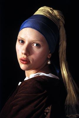 Scarlett Johansson in Lions Gate's Girl With a Pearl Earring
