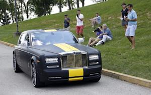 Stable Steelers arrive in style for training camp