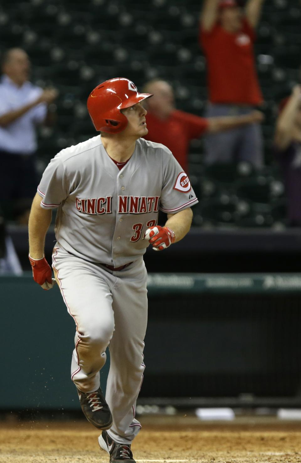 Bruce leads Reds over Astros 6-5 in 13 innings