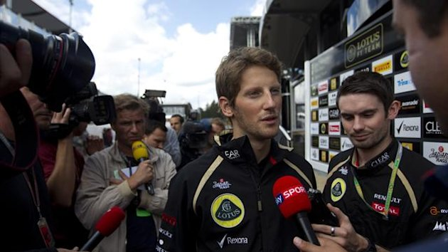 2012 Belgian GP Lotus Grosjean