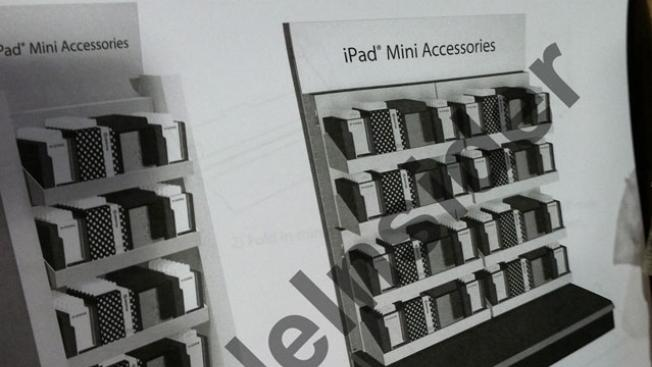 Retailers already prepping iPad mini accessory displays