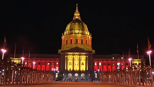 San Francisco shows off 49er pride