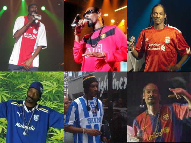 Jesus Christ! The Pope almost has as many football shirts as Snoop Dogg
