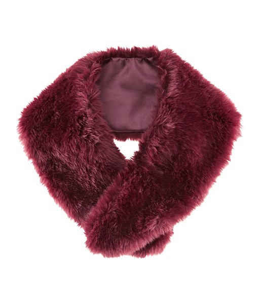 Faux Fur collar, $17.95 at hm.com