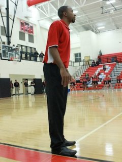 Morgan County boys basketball coach Charlemagne Gibbons — Facebook