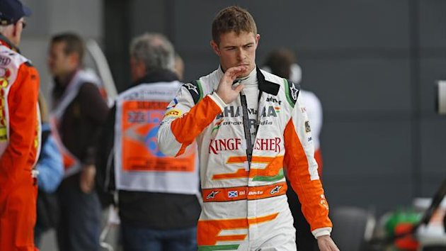 2013 GP of Great Britain Force India Di Resta