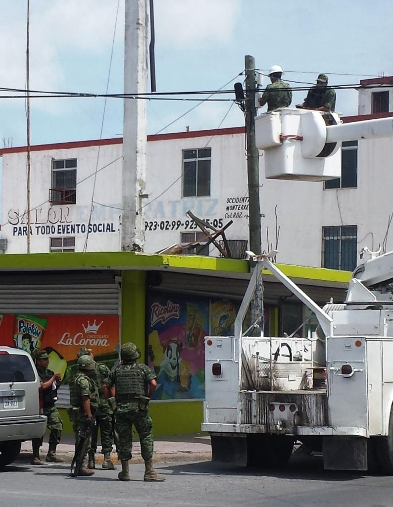 Cartel operated surveillance cameras in Mexican city