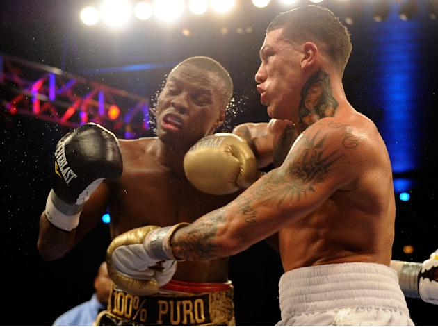 """Kid Chocolate"" Peter Quillin v Gabriel Rosado"