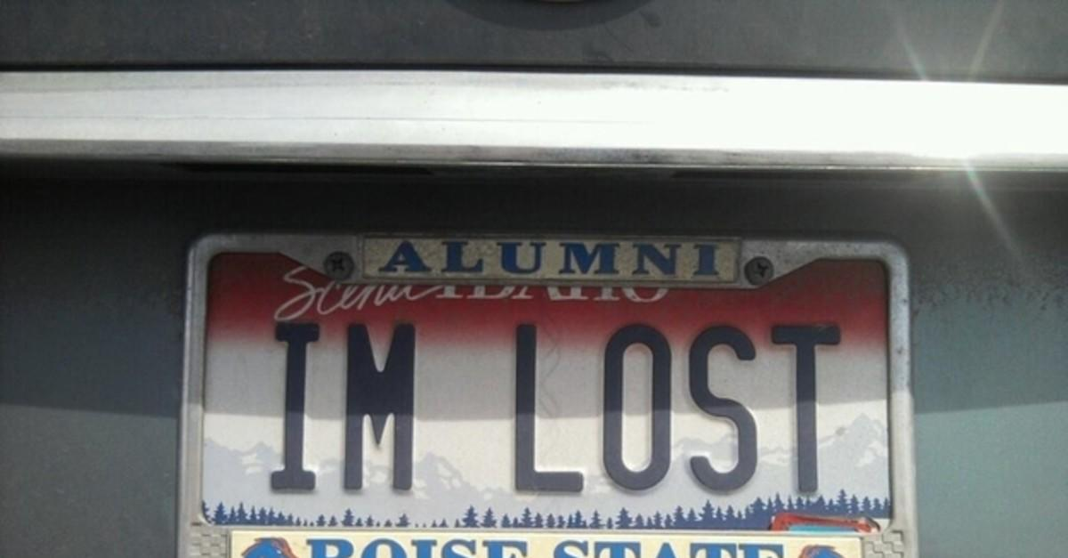 14 Most Hilarious License Plates Of All Time