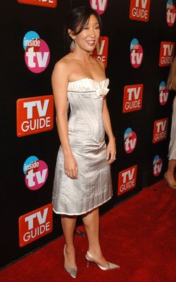 Sandra Oh TV Guide & Inside TV After Party Emmy Awards - 9/18/2005