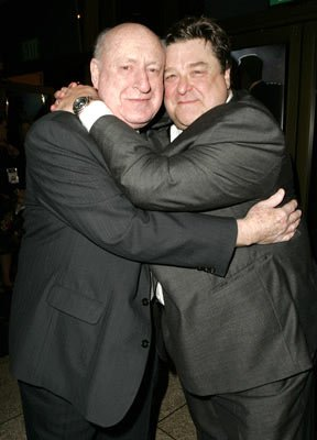 Premiere: Steve Blauner with John Goodman (who plays Blauner in the film) at the 2004 AFI Film Fesitval premiere of Lions Gate Films' Beyond the Sea - 11/4/2004