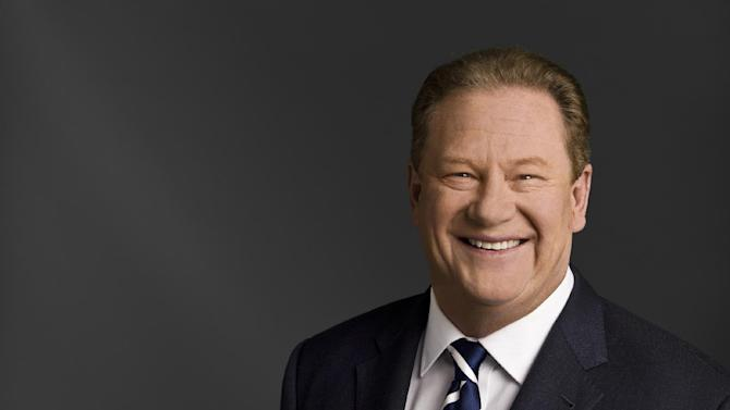 """Ed Schultz of MSNBC is seen in an udated photo provided by MSNBC. Schultz is losing his prime-time show on MSNBC. The cable network says Schultz is being moved to the weekends, to host two-hour shows Saturday and Sunday at 5 p.m. EDT. Schultz will be replaced weeknights by Chris Hayes, whose talk show, """"Up,"""" has been a weekend morning mainstay on the MSNBC schedule since 2011. It begins April 1. (AP Photo/MSNBC)"""
