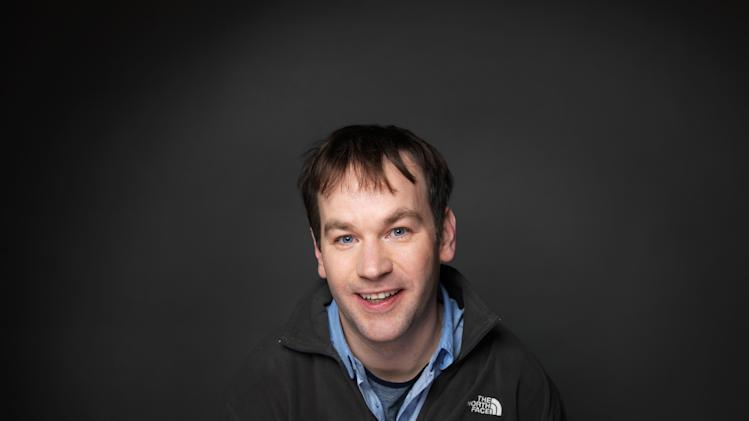 "FILE - In this Jan. 23, 2012 file photo, director/actor Mike Birbiglia of the film ""Sleepwalk With Me,"" poses for a portrait during the 2012 Sundance Film Festival in Park City, Utah. (AP Photo/Victoria Will, File)"