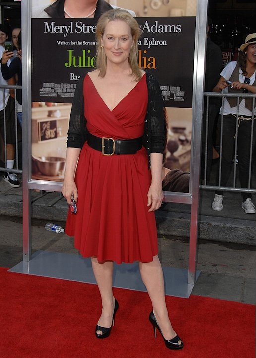 Julie and Julia LA premiere 2009 Meryl Streep