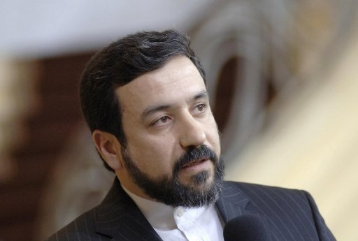 "Iran's Deputy Foreign Minister Abbas Araghchi at the 2006 Munich Conference on Security Policy. An Iranian delegation is in North Korea for talks, the two sides putting forward a ""common front against imperialism and hegemony"", state media said"