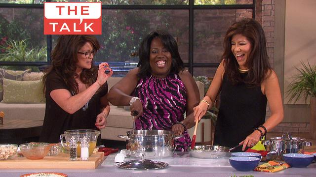 The Talk - Talk Food Festival: Valerie Bertinelli