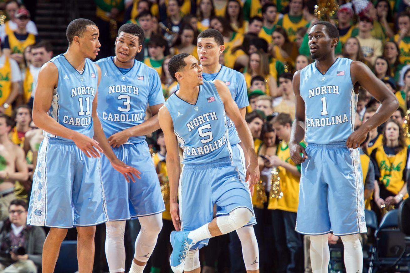 This is North Carolina's worst shooting team ever. It could still win the national title