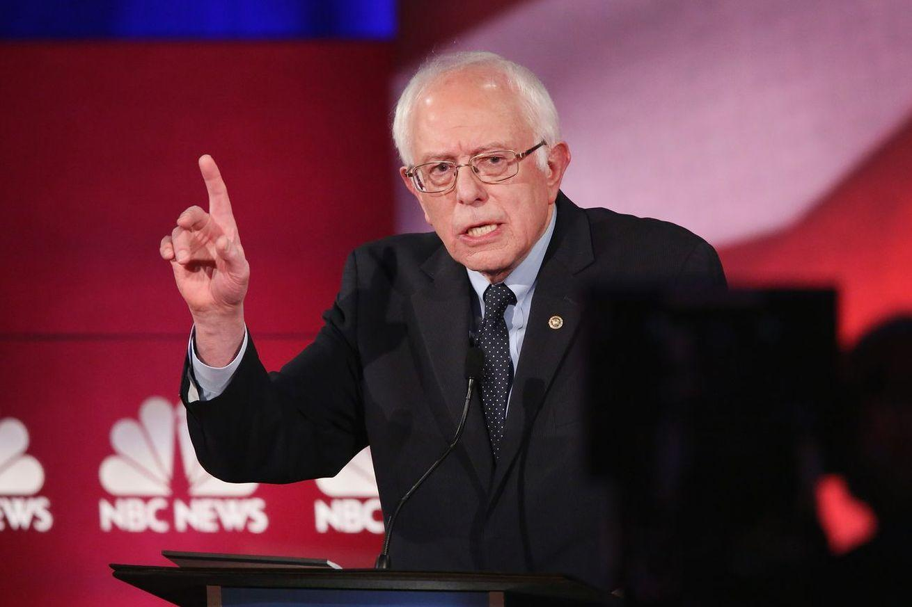 """Bernie Sanders's accusation that Clinton is running a """"money laundering scheme,"""" explained"""