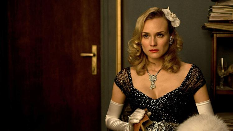Inglourious Basterds Production Photos 2009 Weinstein Company Diane Kruger
