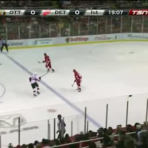 Senators vs. Red Wings / faits saillants du match