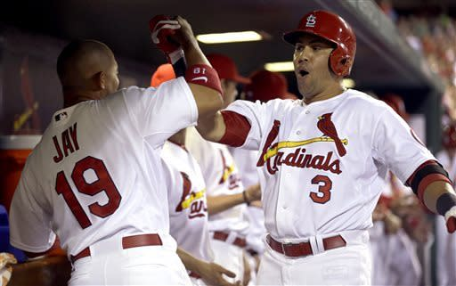 Beltran helps Gast to first win as Cards top Mets