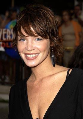 Ashley Scott at the LA premiere of The Bourne Identity