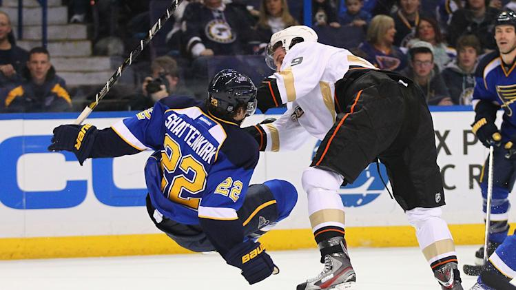 Anaheim Ducks v St. Louis Blues