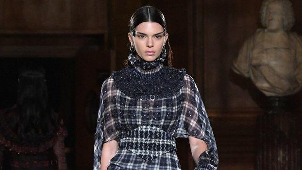 Kendall Jenner and Bella Hadid Slay on the Givenchy Couture Runway in Unexpected Looks