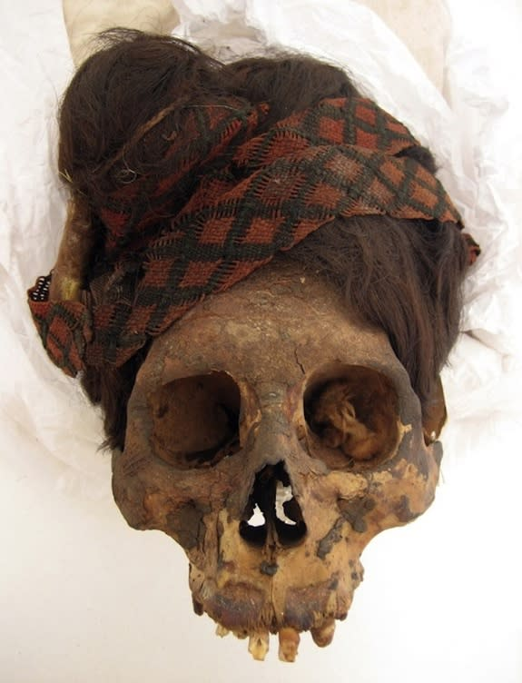 Mummy Hair Reveals Ancient South American Diet