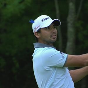 Jason Day's approach to 4 feet sets up birdie on No. 10 at Deutche Bank