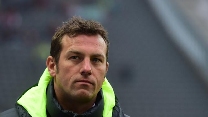 Augsburg's head coach Markus Weinzierl, pictured on January 23, 2016, is chasing his third win over Bayern as they hunt for precious points to keep them away from a relegation fight