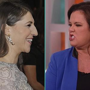Rosie O'Donnell's Rant Over Mayim Bialik's 'Frozen' Comments