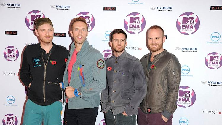 Coldplay MTV Europe Music Awards
