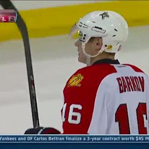 Barkov beats Anderson on the redirection