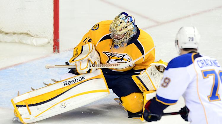 NHL: St. Louis Blues at Nashville Predators