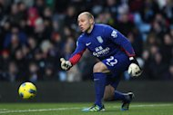 Bradley Guzan could be set for a return to Villa Park