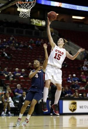 Utah women defeat Arizona 66-48 in Pac-12 tourney