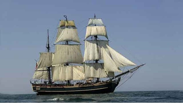 Crew of tall ship rescued off North Carolina coast