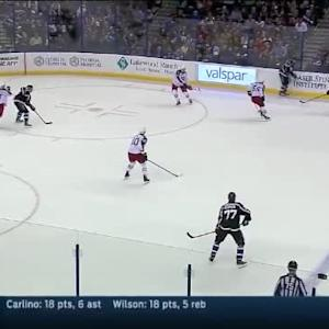 Curtis McElhinney Save on Luke Witkowski (17:36/2nd)