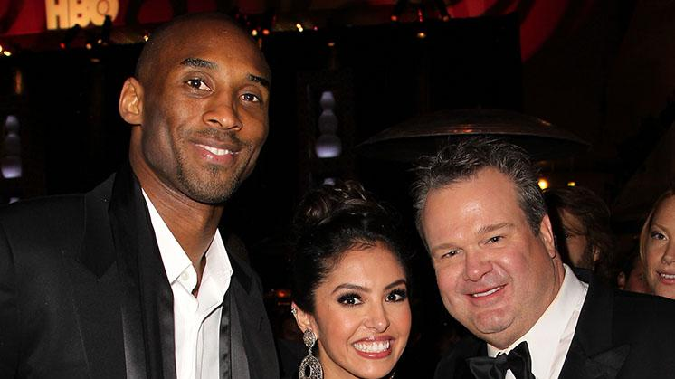 HBO's Official Golden Globe Awards After Party - Red Carpet: Kobe Bryant, Vanessa Laine and Eric Stonestreet