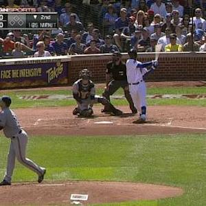 Soler's ovation at Wrigley