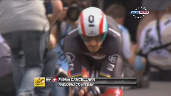 Cancellara beats Wiggins in Tour prologue