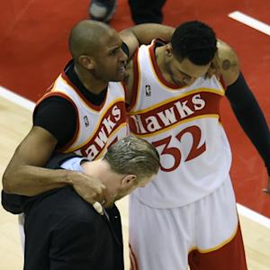 Hawks injuries are mounting up in the conference finals