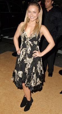 Hayden Panettiere at the Hollywood premiere of MGM's Rocky Balboa