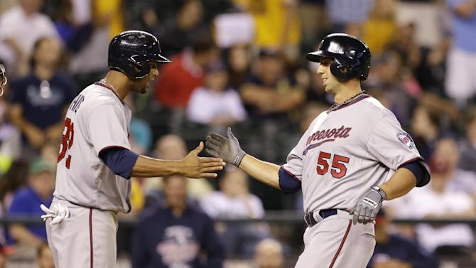 Colabello hits first HR, Twins win in 13 innings