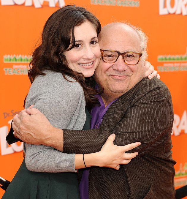 "Lucy DeVito Famous Folks: Danny DeVito and Rhea Perlman  Danny DeVito won the Emmy for Supporting Actor in a Comedy Series for his performance in the television series ""Taxi."" His daughter, Lucy DeVit"