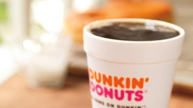 This photo provided by Dunkin' Brands, Inc., shows the company's glazed donut breakfast sandwich. Even as fast-food chains tout their healthy offerings, they're also coming up with fatty new treats to keep customers interested. Case in point: Dunkin' Donuts is adding a doughnut breakfast sandwich to its national menu beginning June 2013. (AP Photo/Dunkin' Brands, Inc., James Scherer)