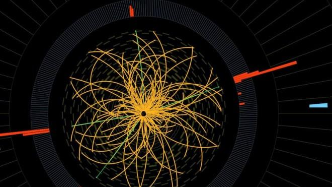 The Higgs may be hiding in this high-speed atom collision... somewhere.