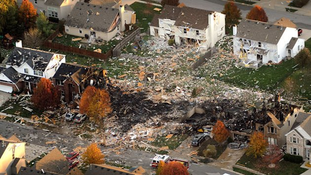 33 Homes Must Go After Indy Blast (ABC News)