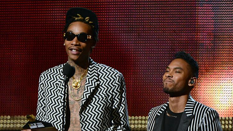 The 55th Annual GRAMMY Awards - Show: Wiz Khalifa and Miguel